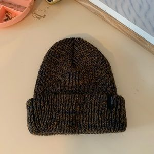 washed navy and copper brixton beanie